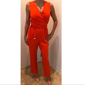 Antonio Melani Jumpsuit with adjustable waist tie